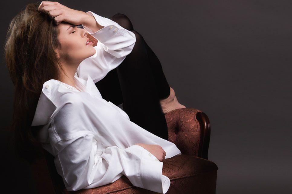 Fotomodel Linn Harstäde